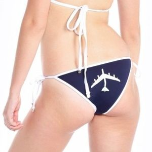 Wildfox Get High With Me Reversible Bikini Bottoms